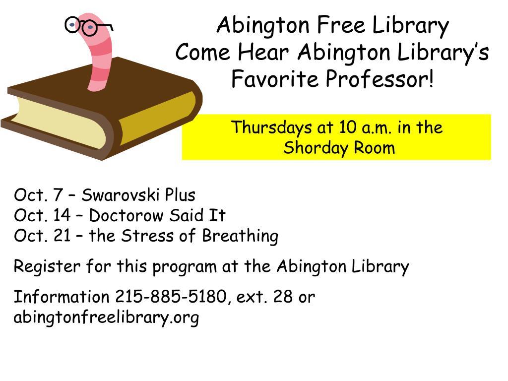 Abington Free Library