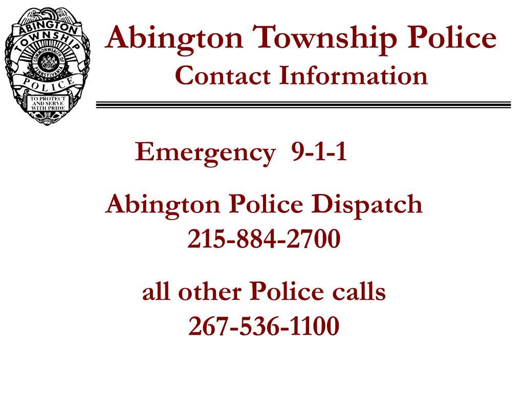 Abington Township Police