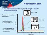 fluorescence cont