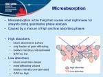 microabsorption