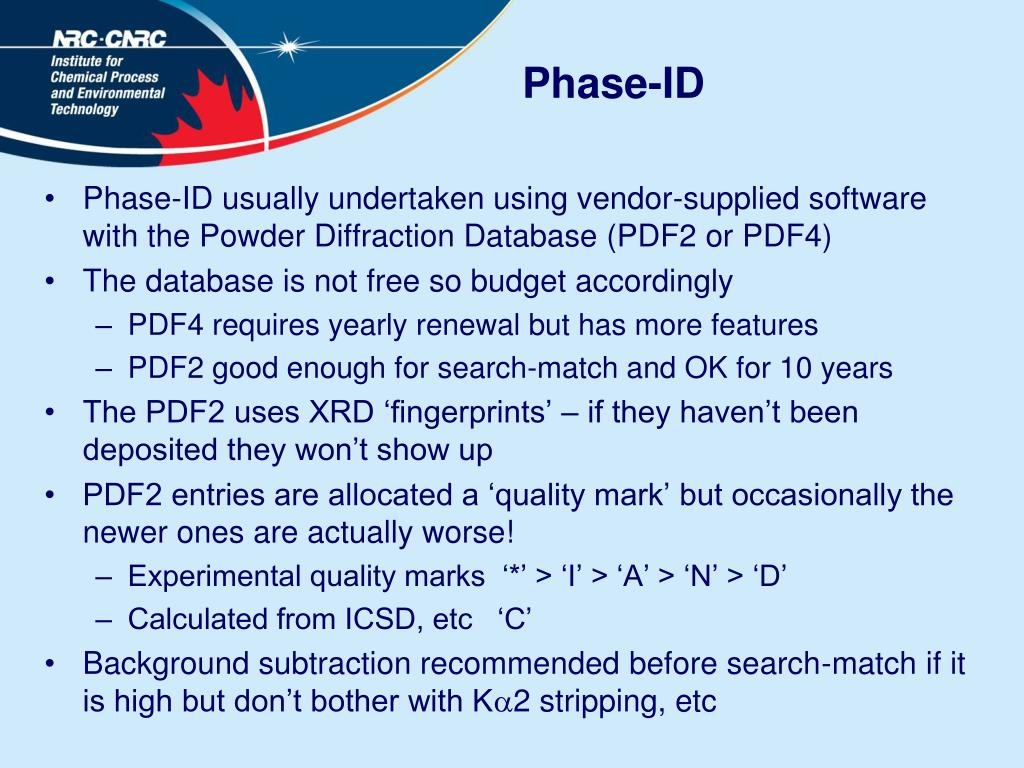 Phase-ID