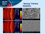 seeing particle statistics