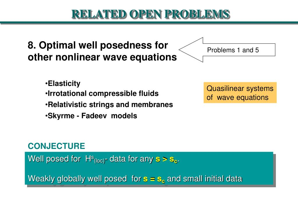 RELATED OPEN PROBLEMS