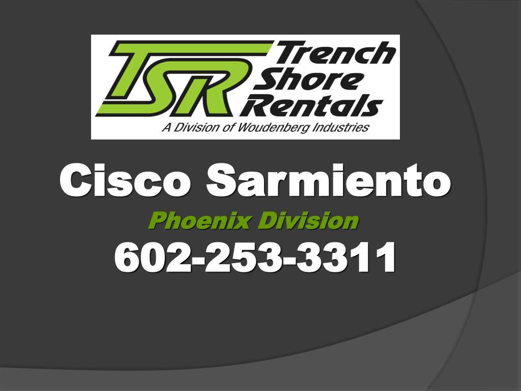 Cisco Sarmiento