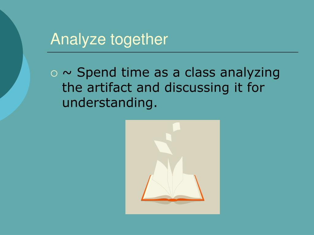 Analyze together