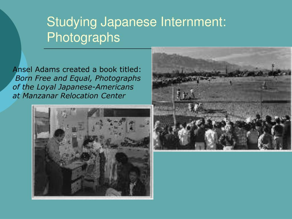 Studying Japanese Internment: