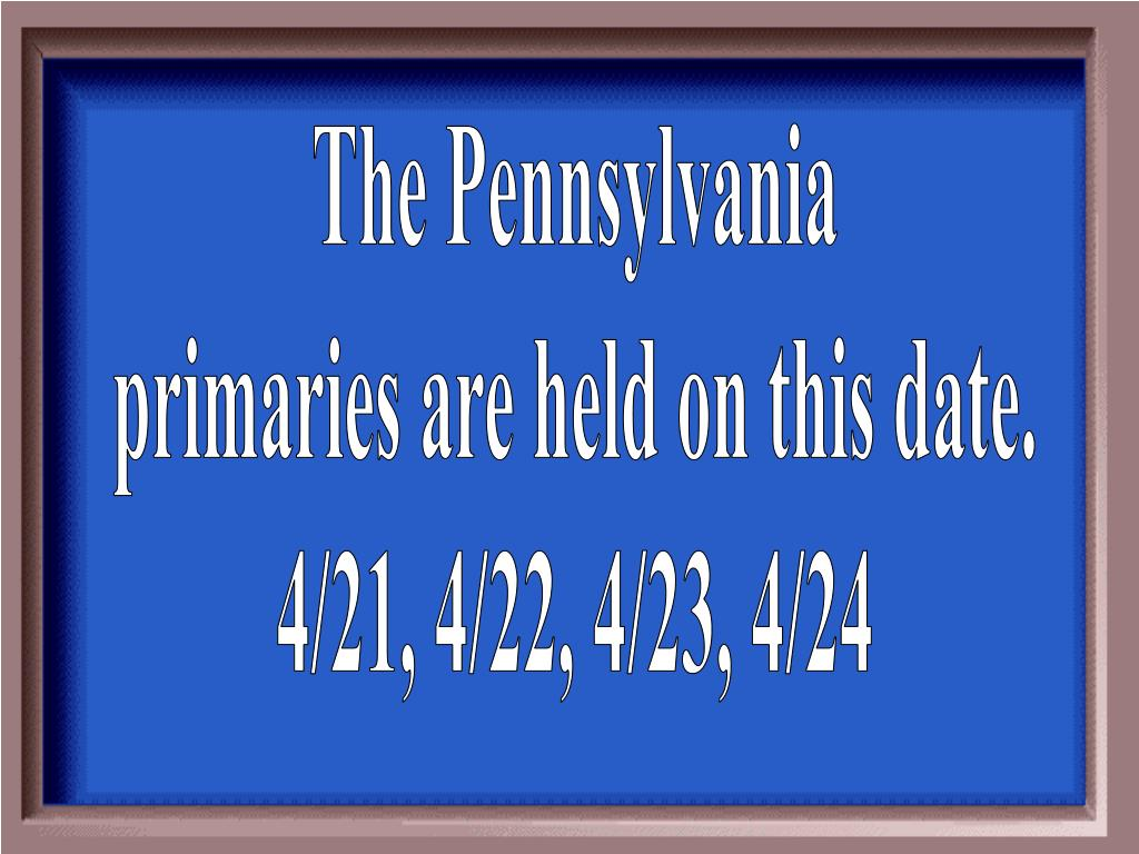 The Pennsylvania