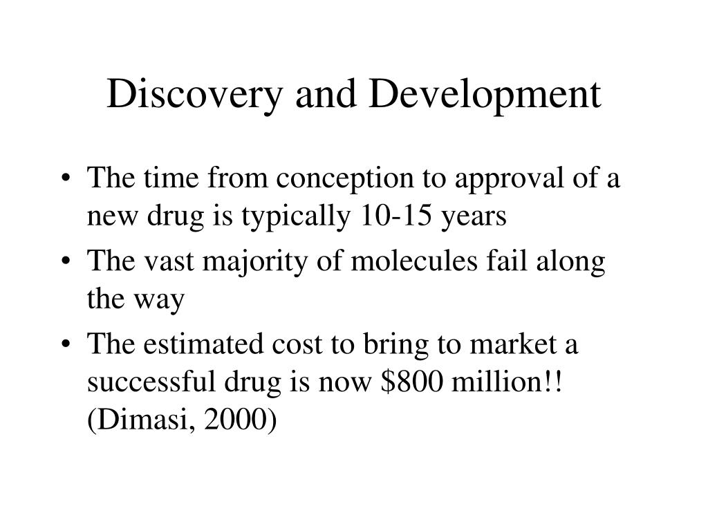 Discovery and Development