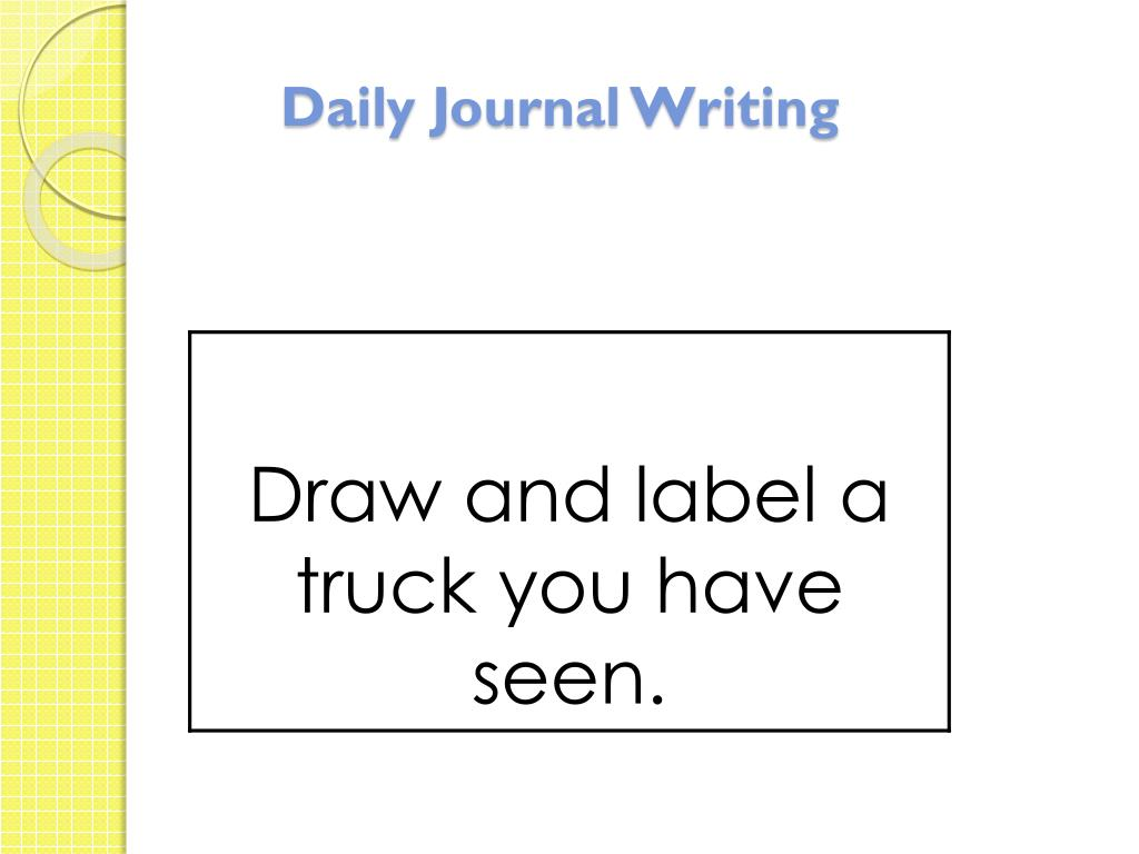 does writing in a journal help Journal writing has been a real help in developing oral language and  do  journal writing every morning from the first day of school to the last.