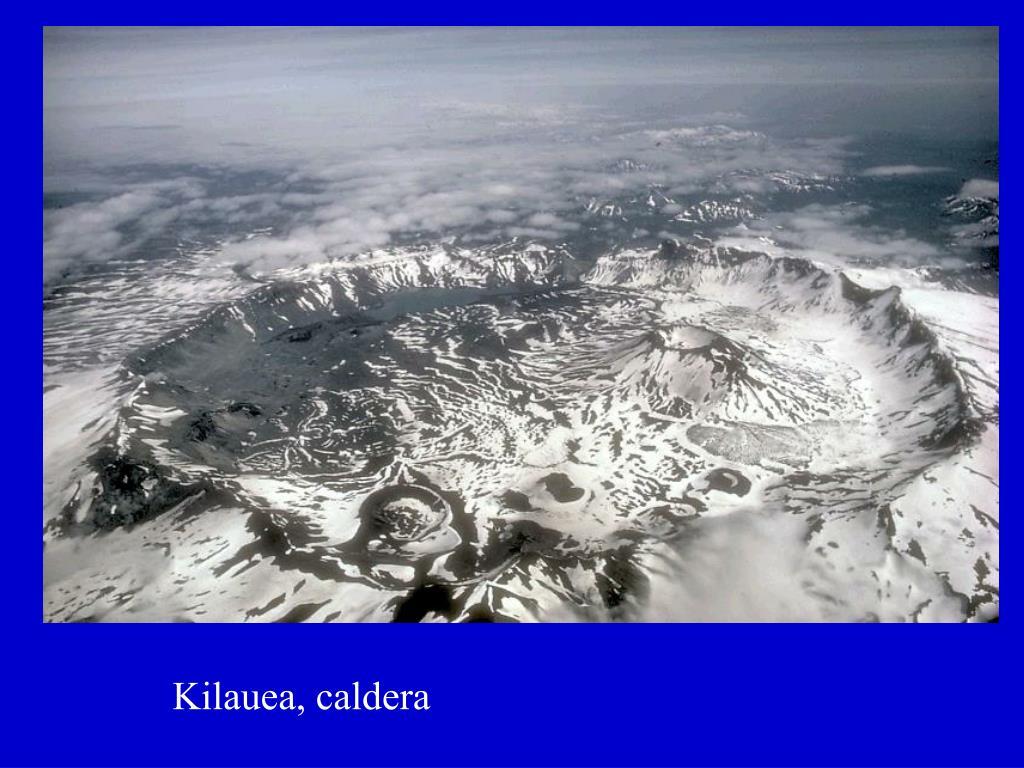 Kilauea, caldera