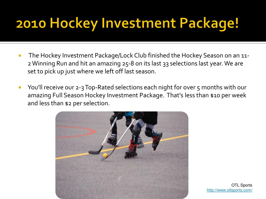 2010 Hockey Investment Package!