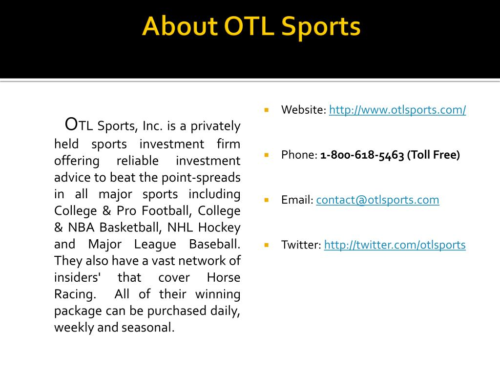 About OTL Sports