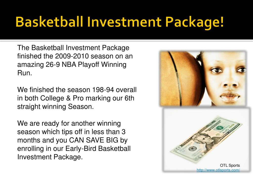 Basketball Investment Package!
