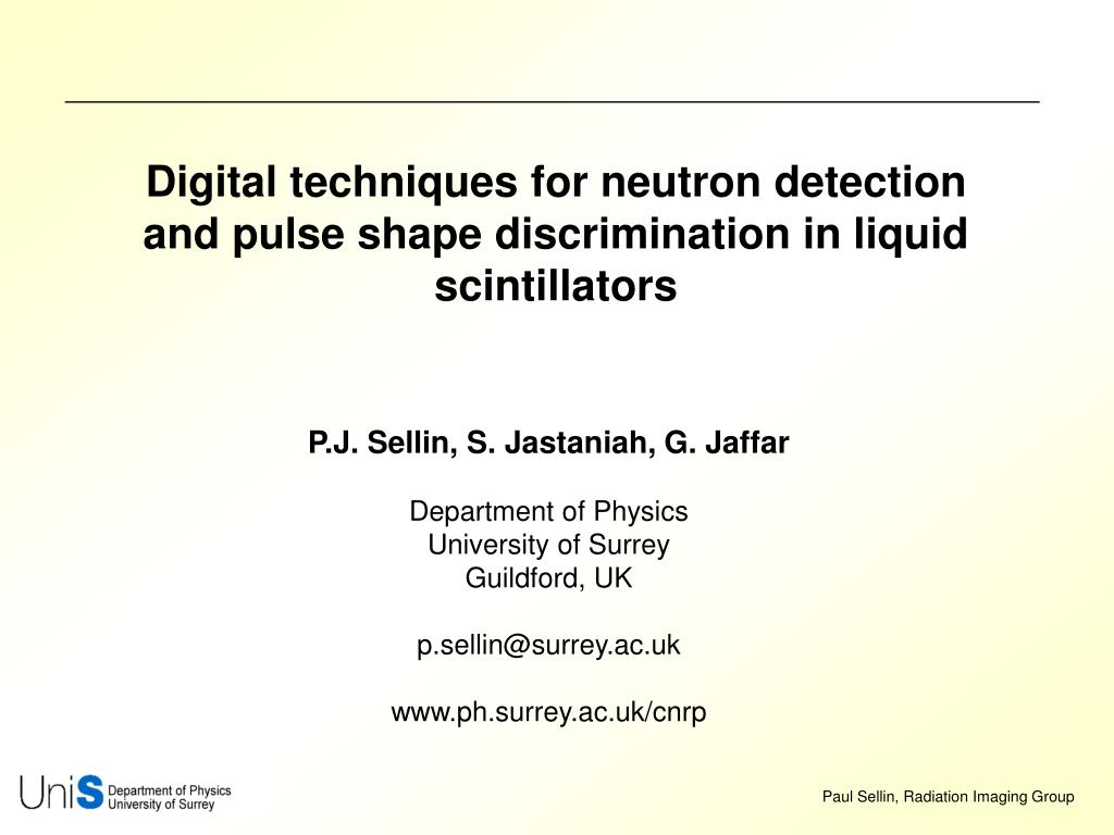 Digital techniques for neutron detection and pulse shape discrimination in liquid scintillators