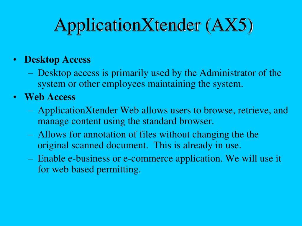ApplicationXtender