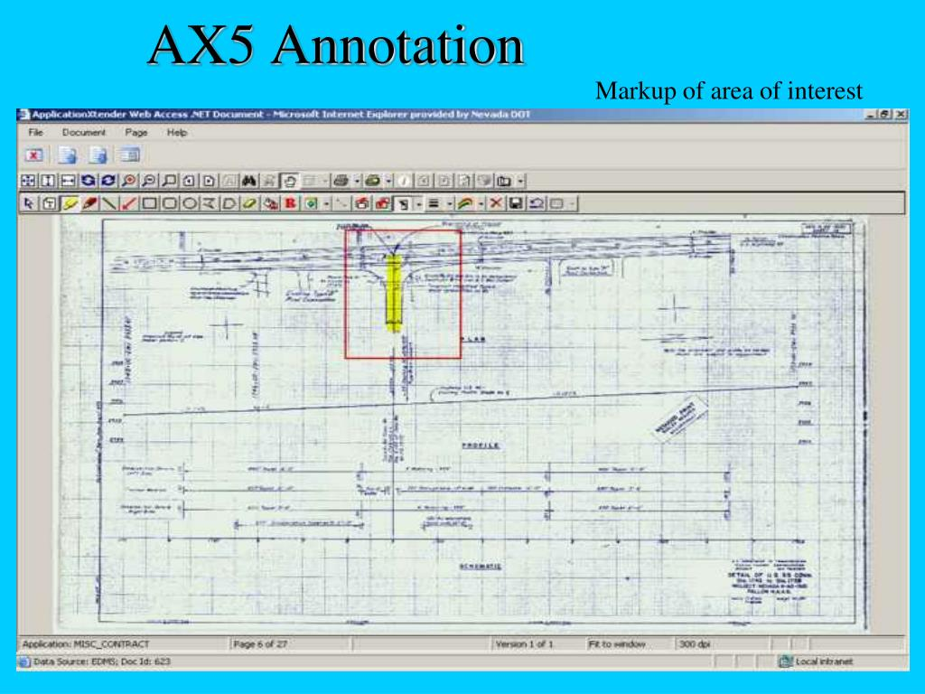 AX5 Annotation