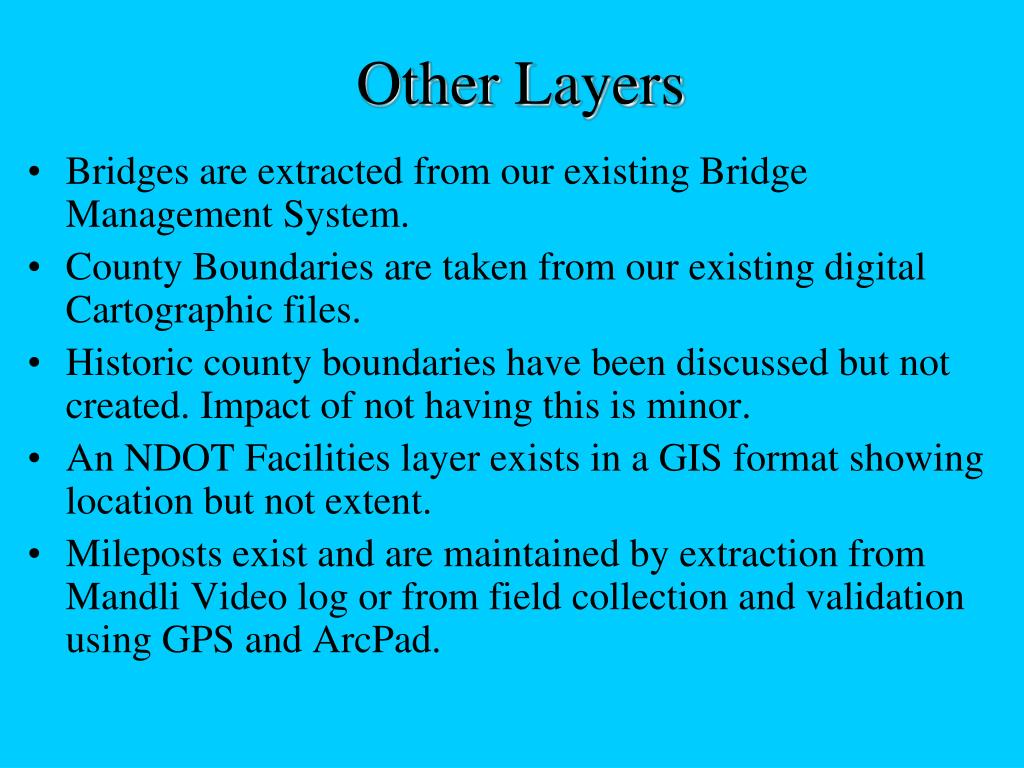 Other Layers
