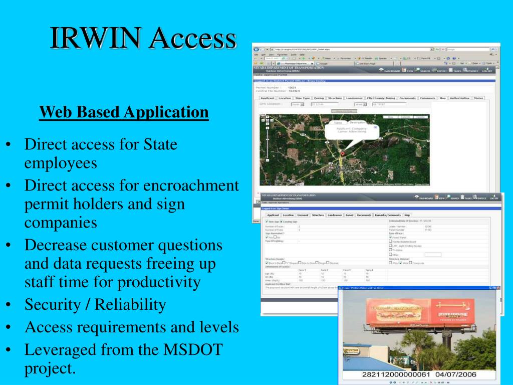 IRWIN Access