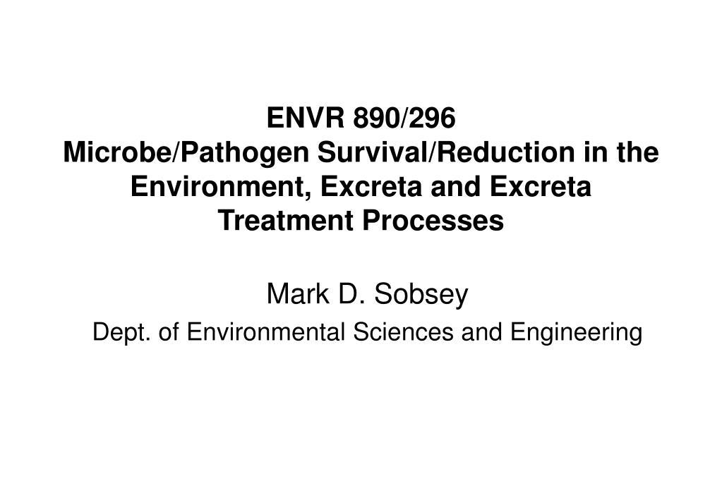 ENVR 890/296