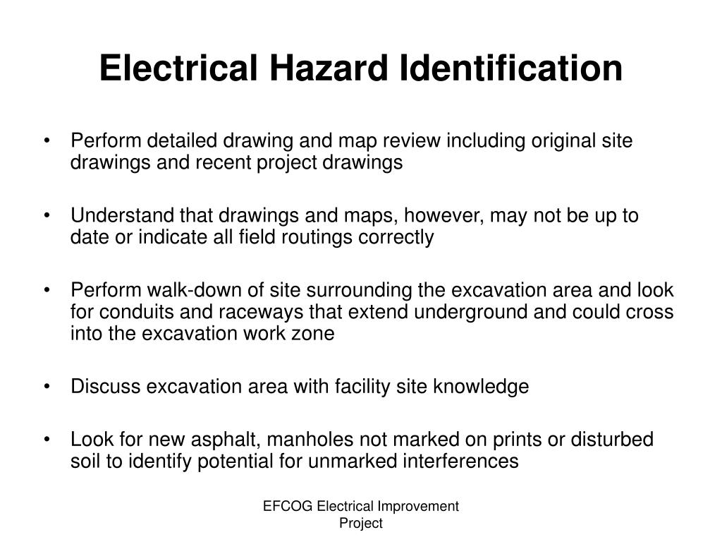 Electrical Hazard Identification