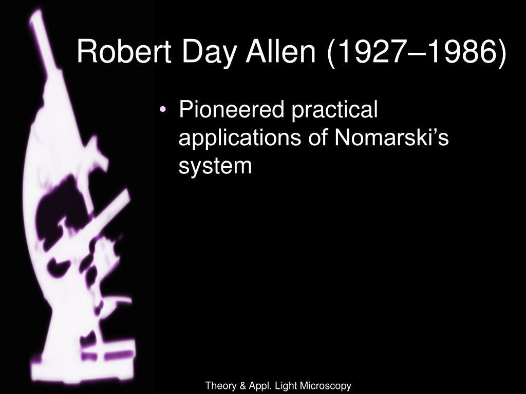 Robert Day Allen (1927