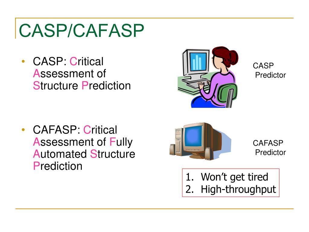 CASP/CAFASP