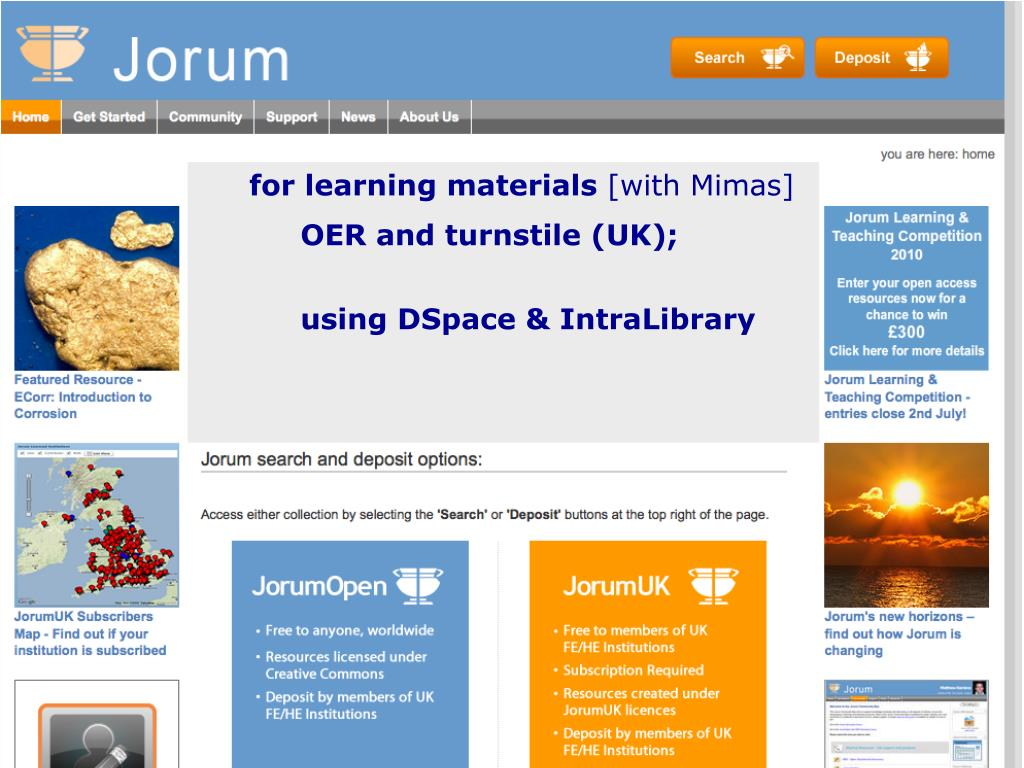 for learning materials