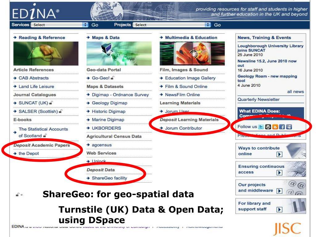 ShareGeo: for geo-spatial data