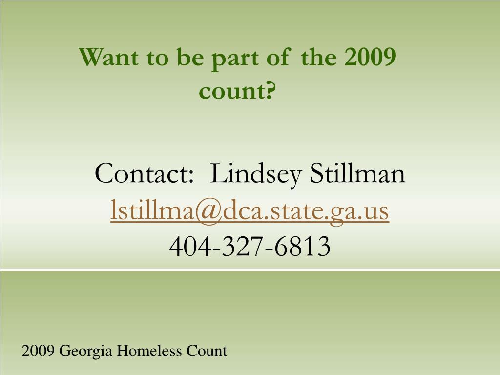 Contact:  Lindsey Stillman
