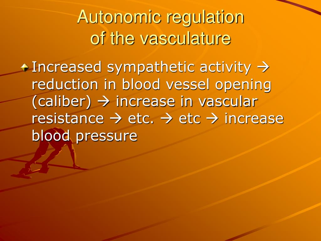 Autonomic regulation