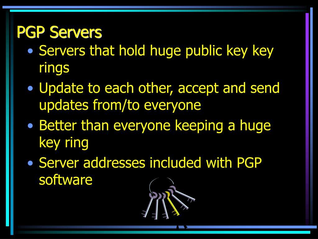 PGP Servers