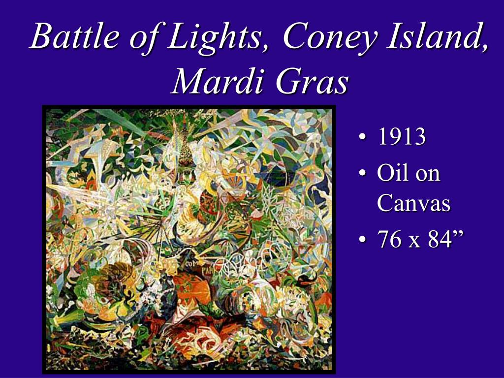 Battle of Lights, Coney Island, Mardi Gras