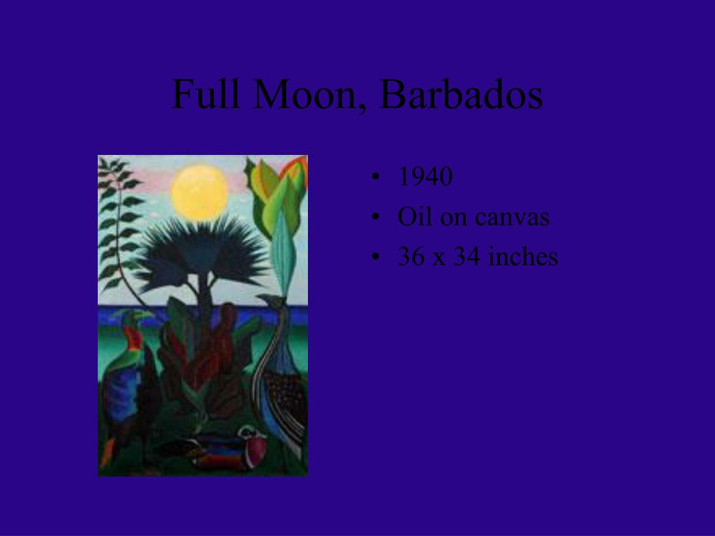 Full Moon, Barbados