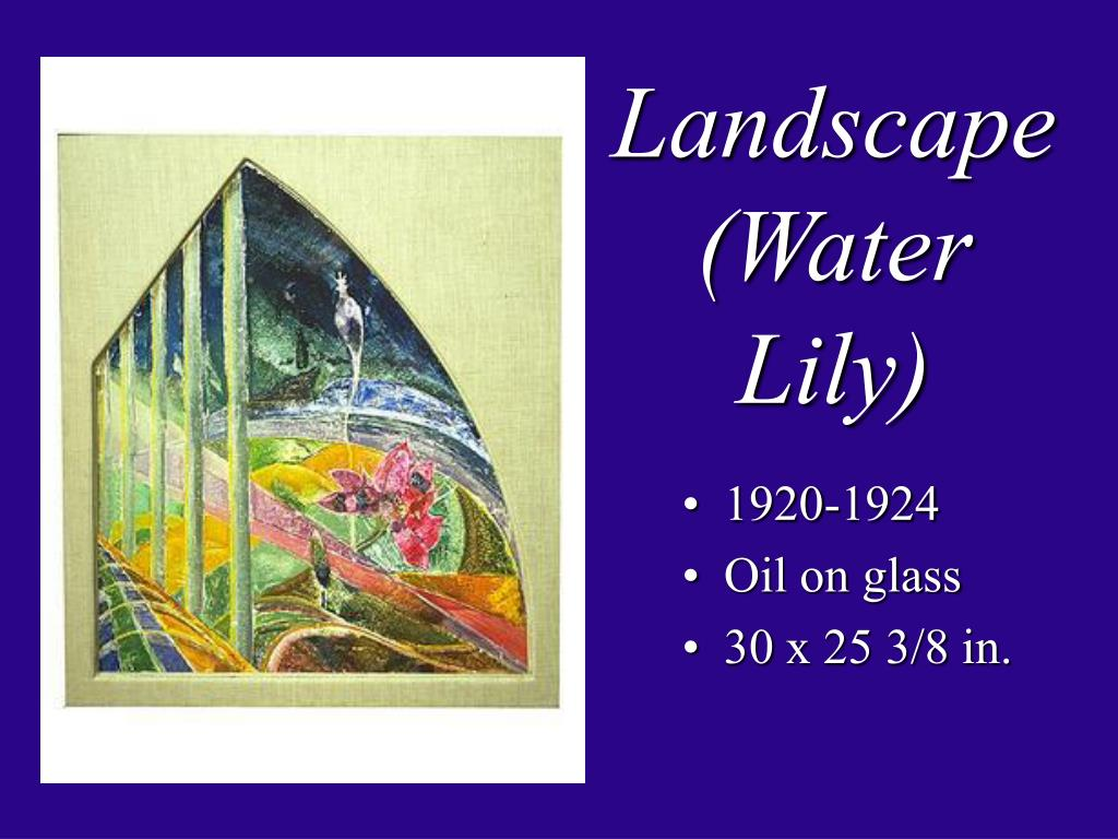 Landscape (Water Lily)