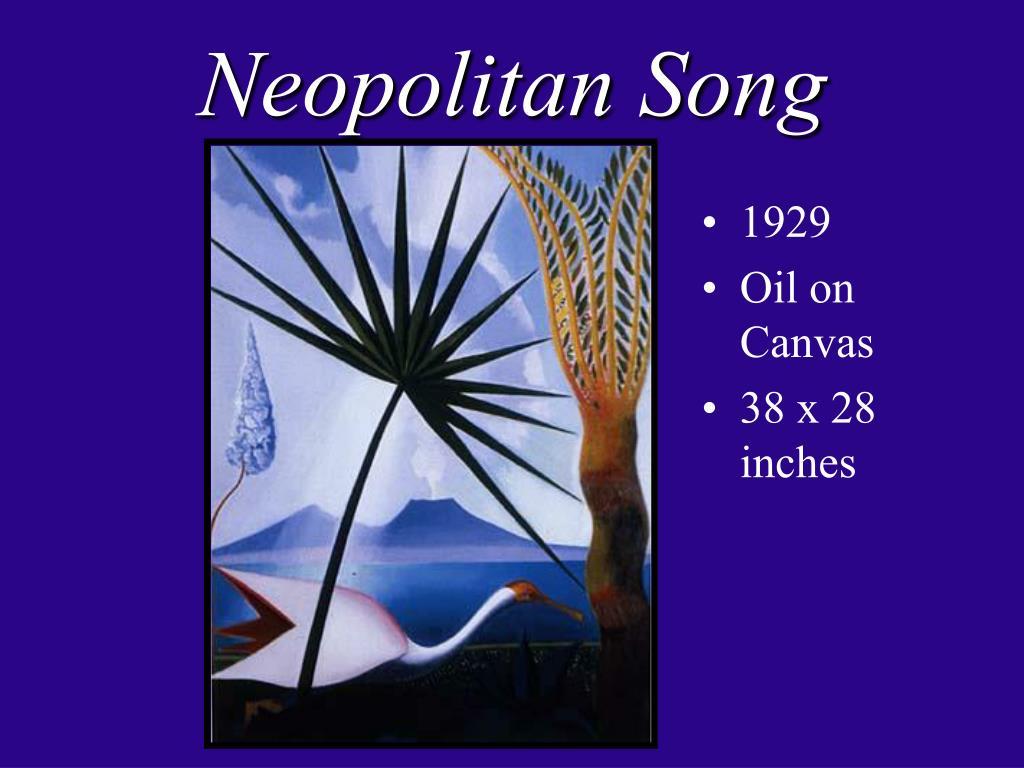 Neopolitan Song