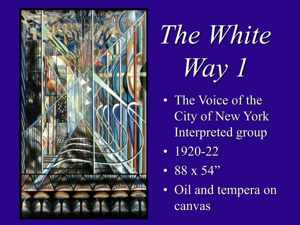 The White Way 1