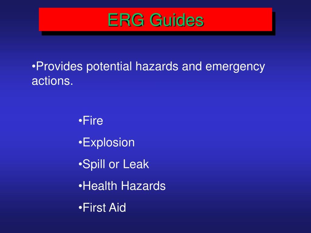 ERG Guides