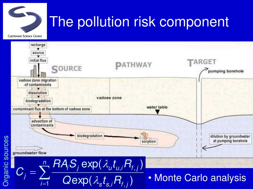 The pollution risk component