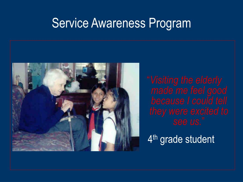 Service Awareness Program