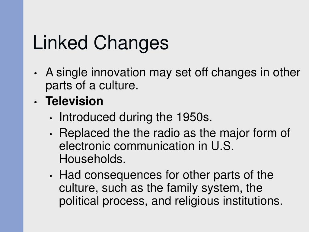 Linked Changes