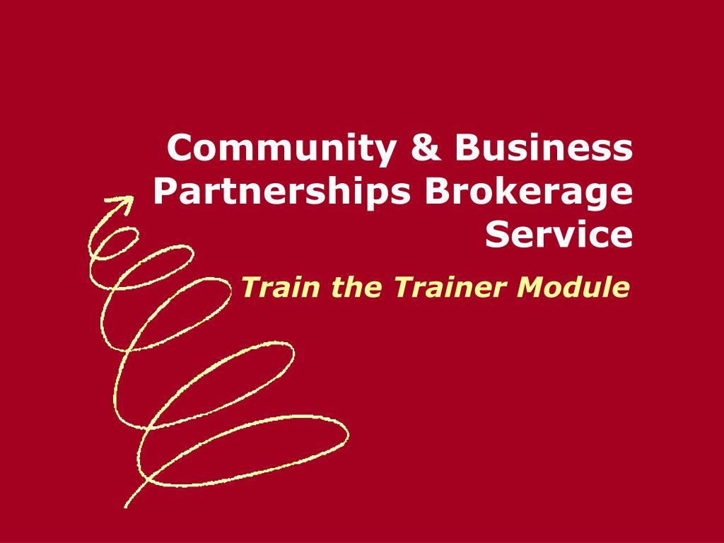 Community & Business