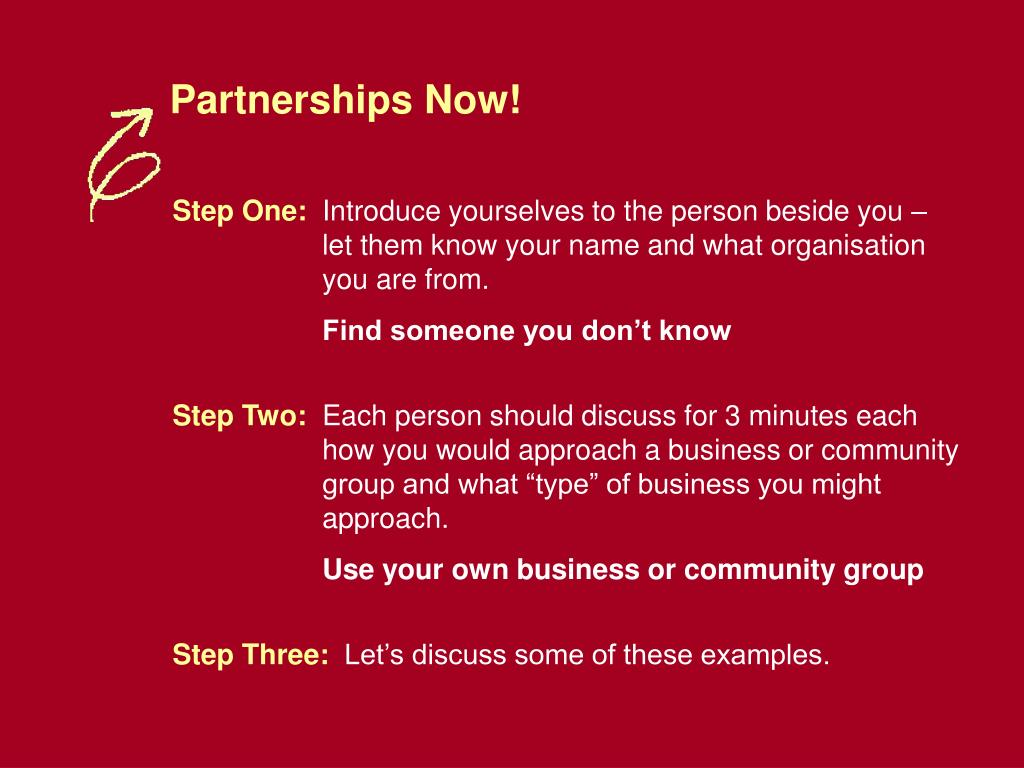 Partnerships Now!