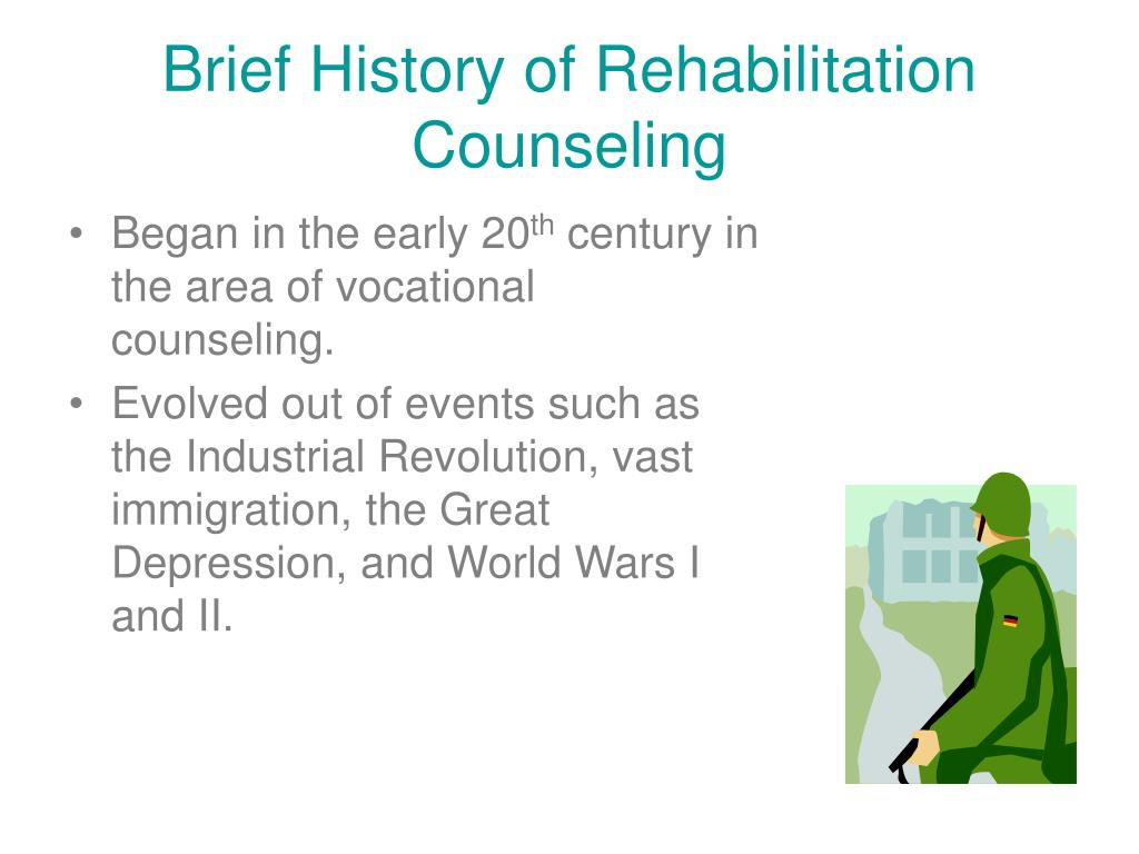 Brief History of Rehabilitation Counseling