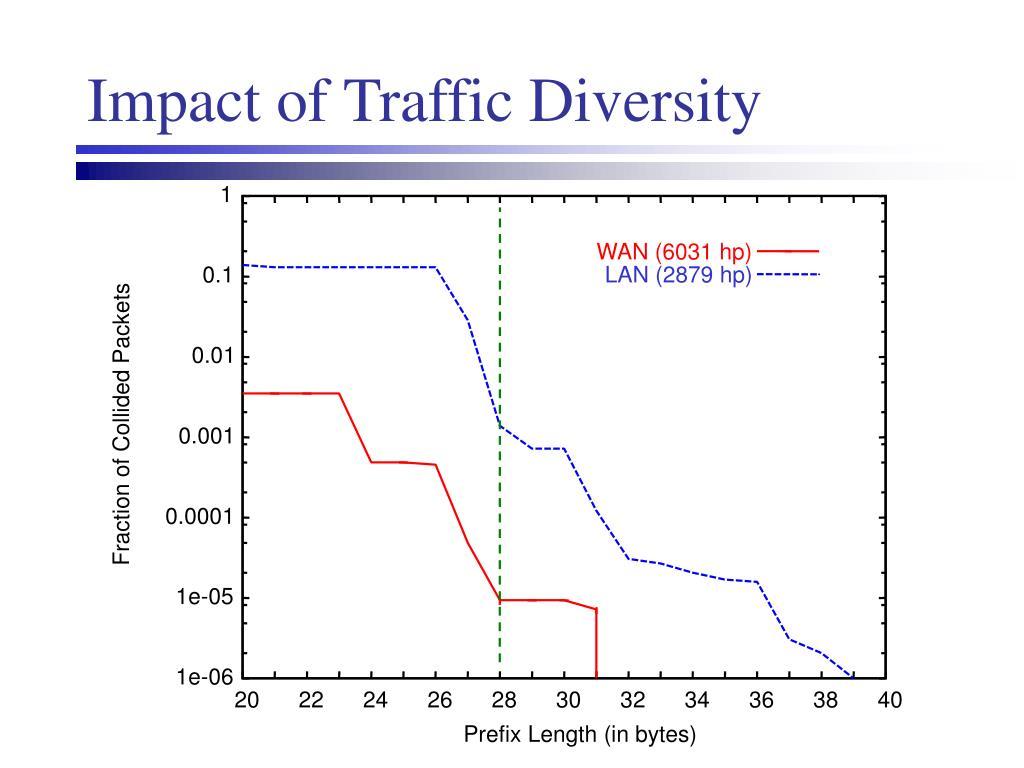 Impact of Traffic Diversity