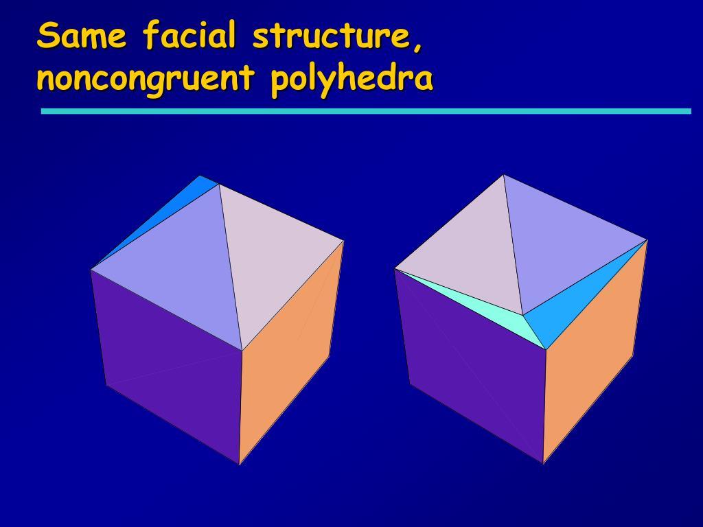 Same facial structure,