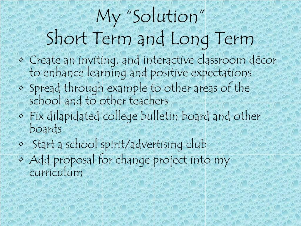 """My """"Solution"""""""