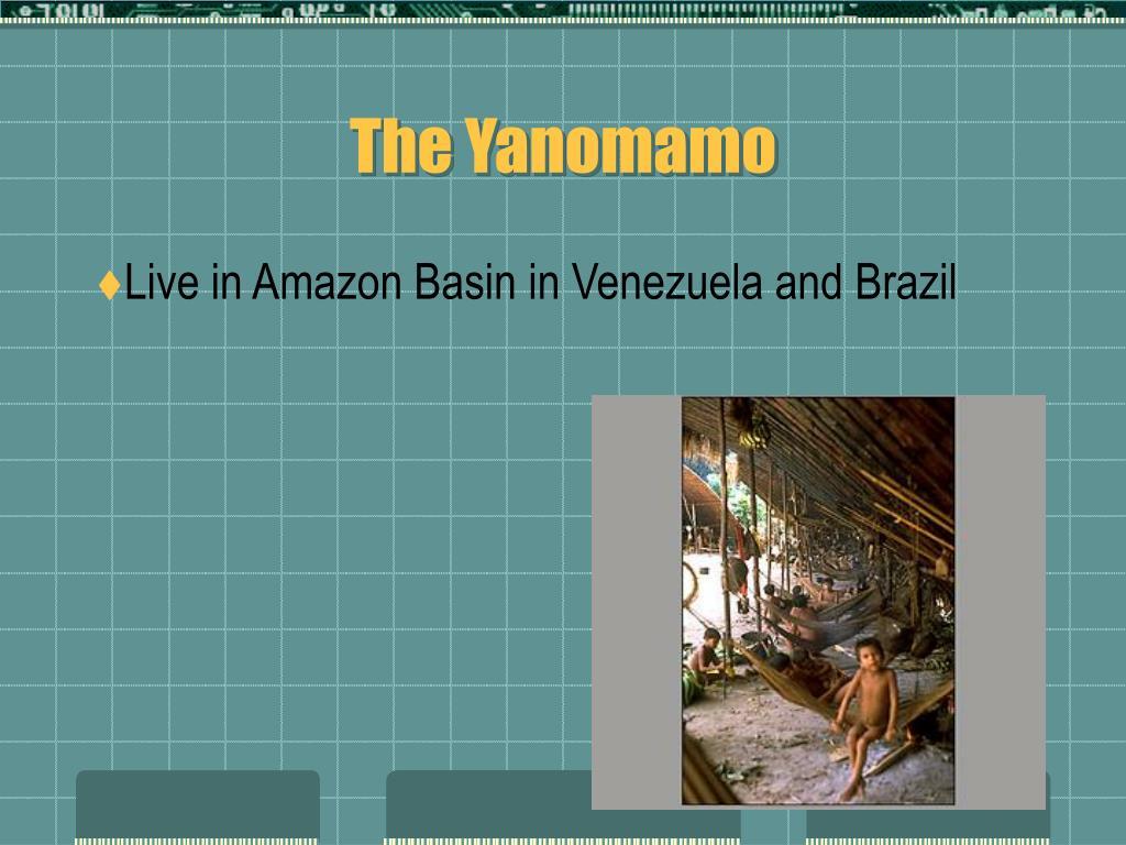 The Yanomamo