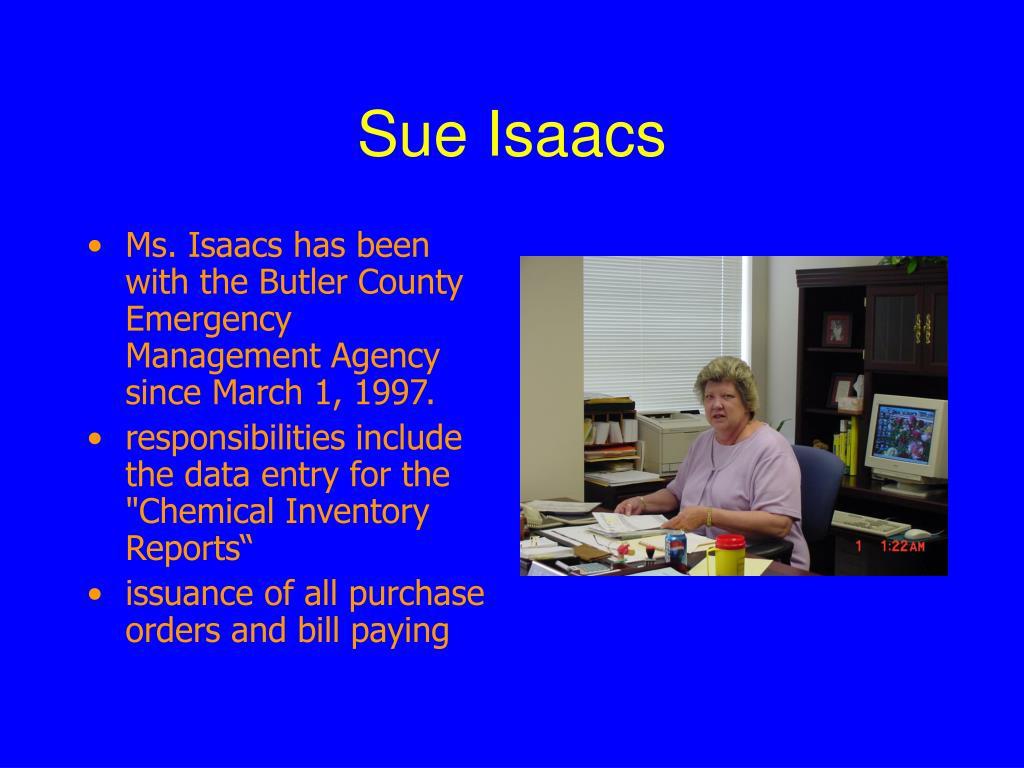 Sue Isaacs