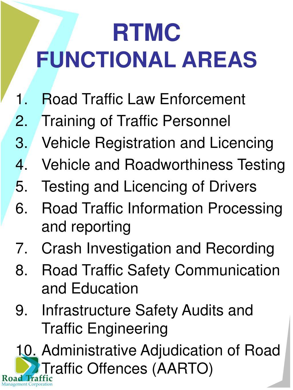 Road Traffic Law Enforcement