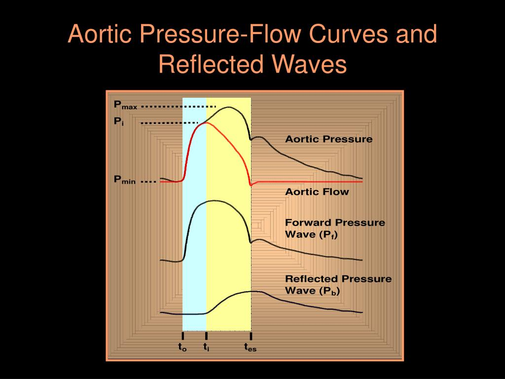 Aortic Pressure-Flow Curves and Reflected Waves